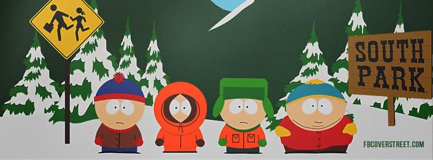 South Park Facebook Cover