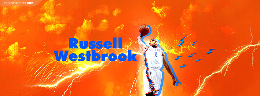 Russell Westbrook 7 Facebook cover