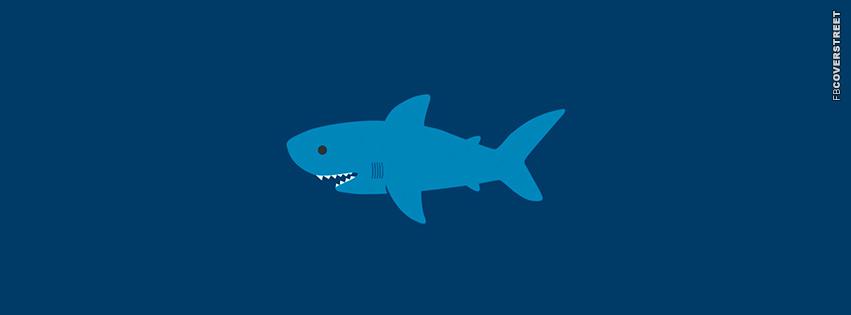 Shark Cartoon  Facebook cover
