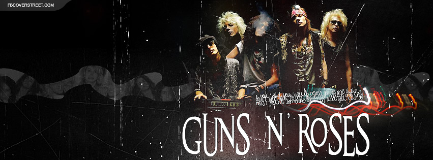 Guns and Roses Facebook Cover