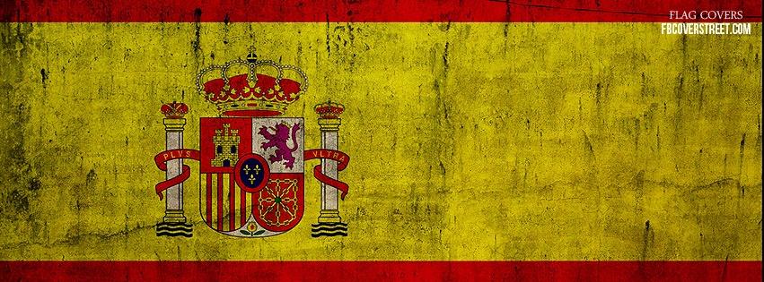 Spain Flag Facebook Cover