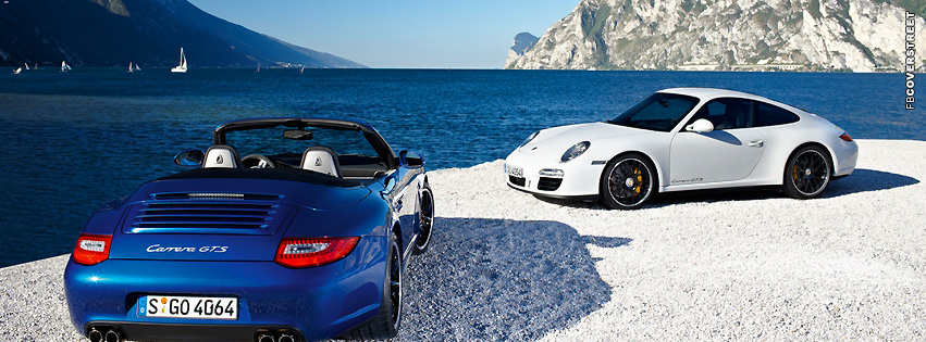 Porsche Carrera GTS Cars  Facebook Cover