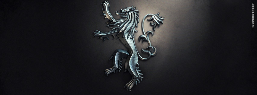 House of Lannister Game of Thrones Emblem Facebook Cover