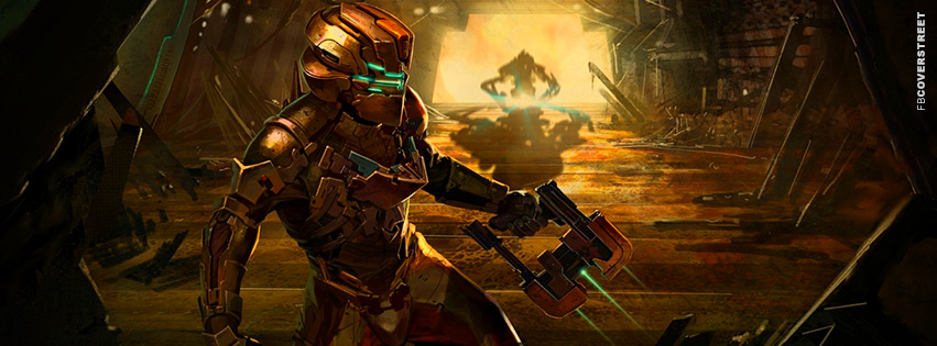 Dead Space 2 Concept Artwork  Facebook Cover