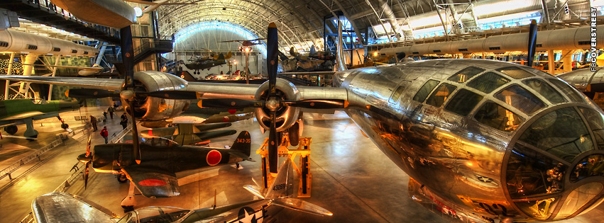 Plane Museum HDR  Facebook cover