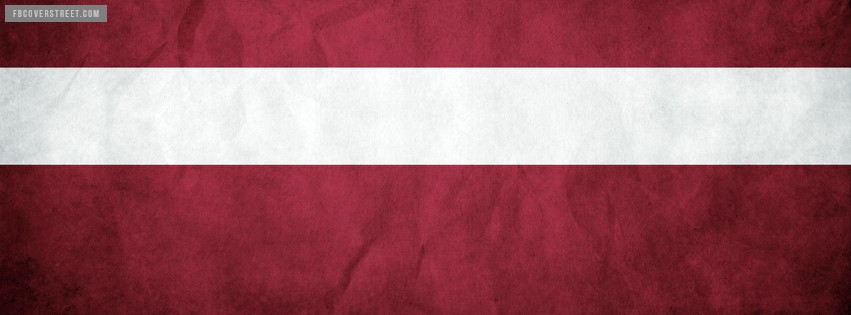 Latvia Flag Facebook cover