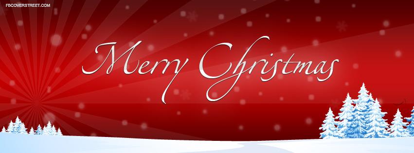 Nice Merry Christmas Cover 3 Facebook Cover - FBCoverStreet.com