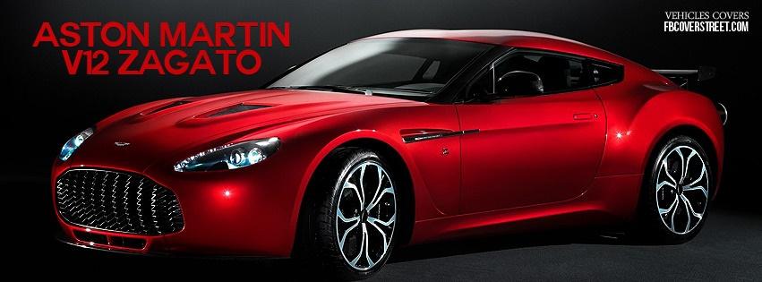 Aston Martin V12 Zagato Facebook cover