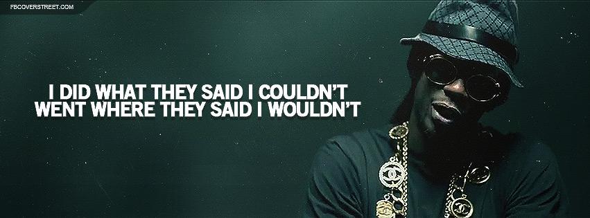 2 Chainz No Lie Lyrics Facebook Cover
