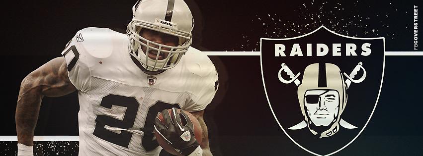 Oakland Raiders Darren McFadden Facebook cover