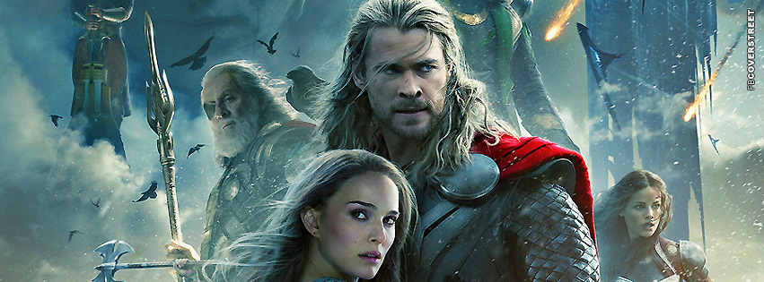 Thor The Dark World Movie Cover  Facebook Cover