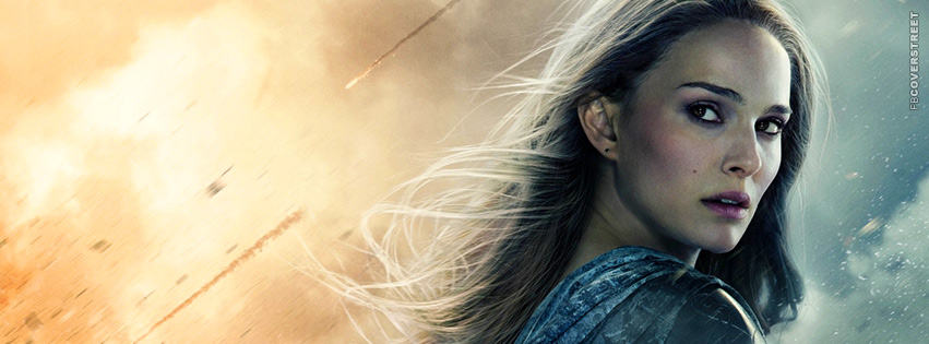 Jane Foster Thor The Dark World Movie Facebook Cover