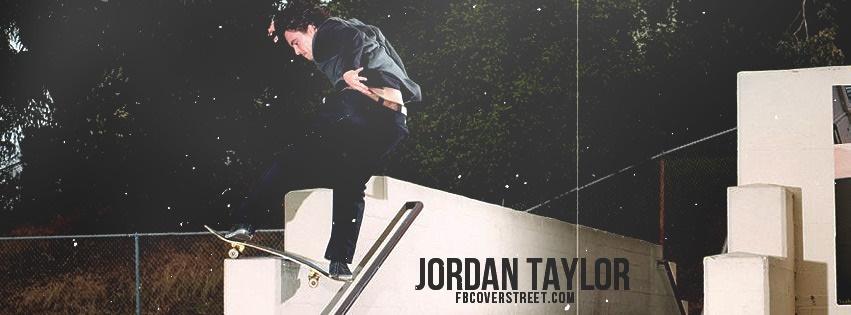 Jordan Taylor Toy Machine Facebook Cover