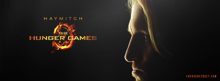 Haymitch Hunger Games Facebook cover