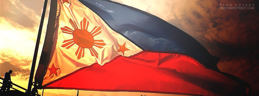 Philippine Flag Photograph 2 Facebook Cover