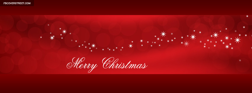 Nice Merry Christmas Cover 5 Facebook Cover