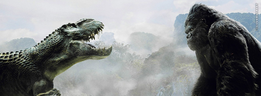 Godzilla vs King Kong Movie Facebook Cover