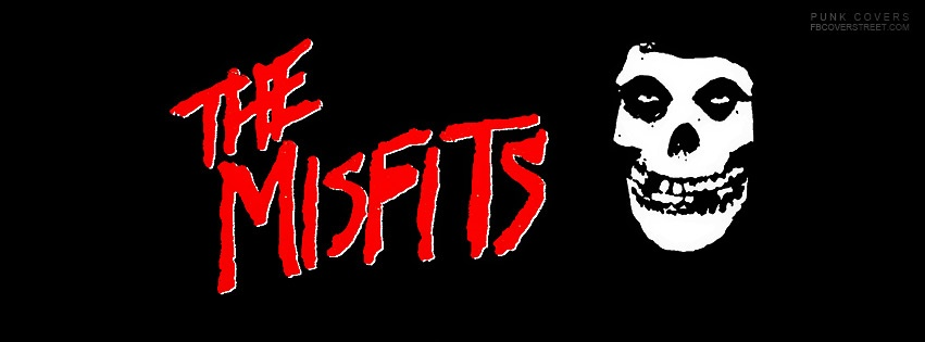 The Misfits Logo Facebook Cover