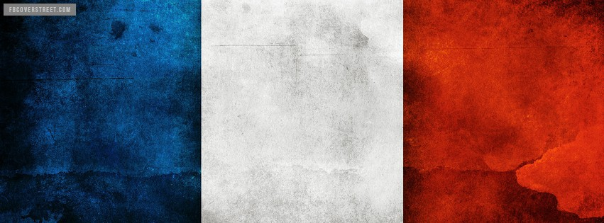 France Flag 1 Facebook Cover