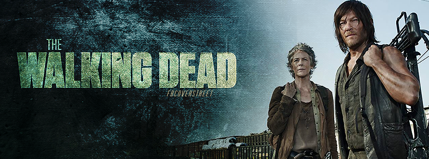 The Walking Dead Season 5 Carol and Daryl Facebook Cover