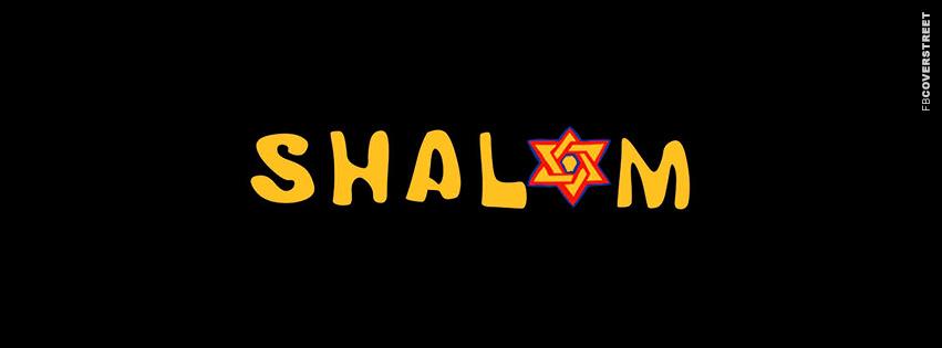 Shalom Hanukkah  Facebook cover