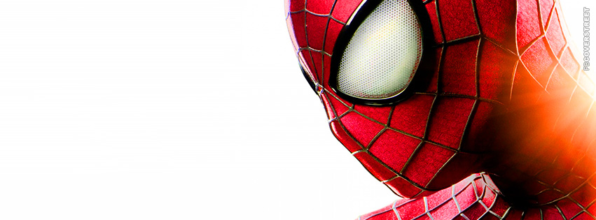 The Amazing Spiderman Minimal Movie Facebook Cover