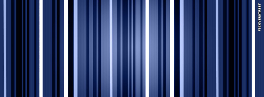 Blue Striped Lines  Facebook cover