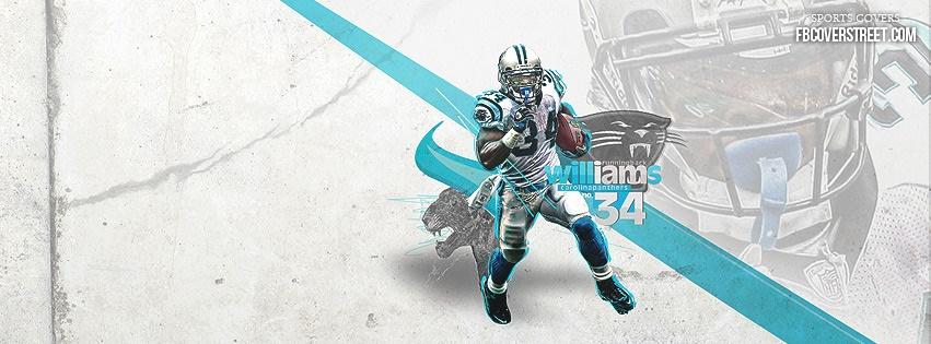 Deangelo Williams Carolina Panthers 1 Facebook Cover