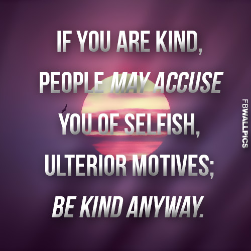 If You Are Kind Mother Theresa Advice Quote Facebook picture