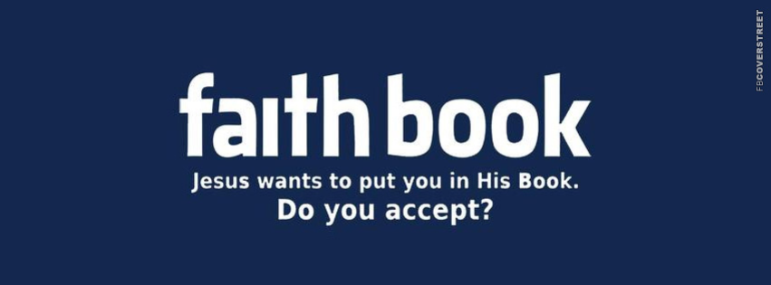 Faith Book Christianity Jesus Facebook cover