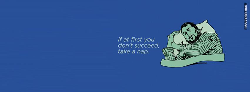 Take A Nap  Facebook Cover